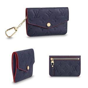 Louis Vuitton, key pouch, marine rouge
